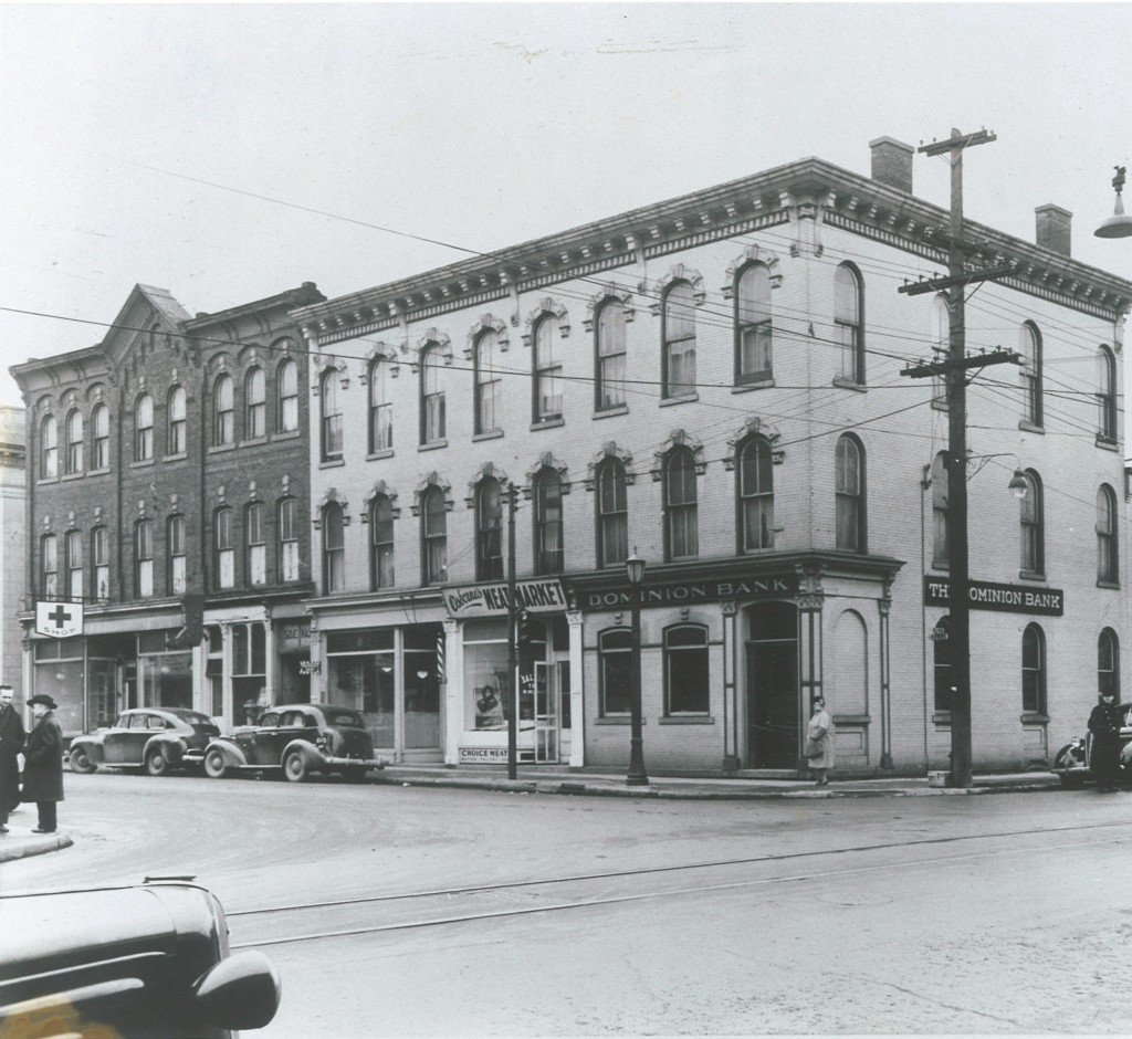 Dominion Building St Catharines 1940